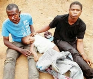 Photo: NSCDC Arrests Men Caught with Corpse of 3-year-old Girl
